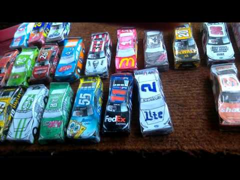 Paper NASCAR update: All the cars I have made so far!!