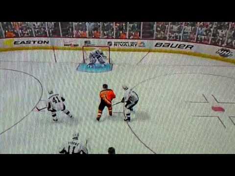 NHL14: shAdow973Z windmill dekes 2 Dmen & Goalie