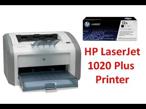 HP Lasejet 1020 Plus Printer Demo and Review