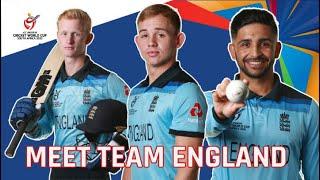 ICC U19 CWC: Meet the England team
