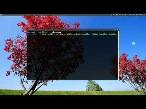 Change Default File Manager in GNOME - Ubuntu 10.10