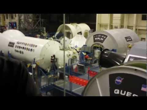 NASA training facility in Houston Texas