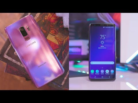 Samsung Galaxy S9 and S9+ Review!