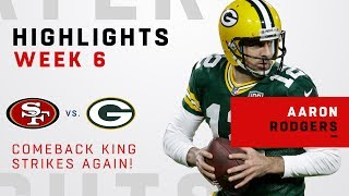 Aaron Rodgers Does it Again w/ Amazing Comeback!!!