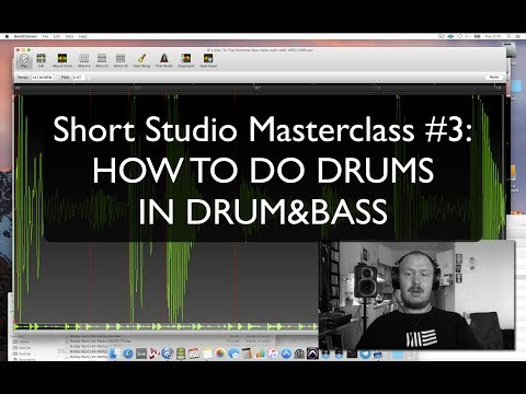 Fanu's Short Studio Masterclass 3: How to do drums in D&B