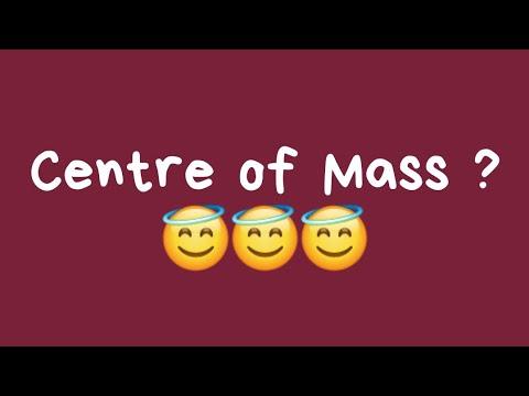 centre of mass of a molecule
