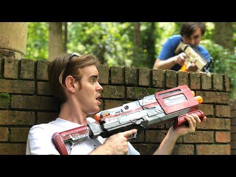 NERF Mod: Fortnite Battle Royale Tactical Shotgun Nerf Gun Mod IN REAL LIFE!
