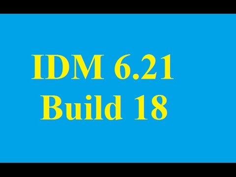 Internet Download Manager Full (IDM)  6.21 Build 18 mới nhất 13/01/2015