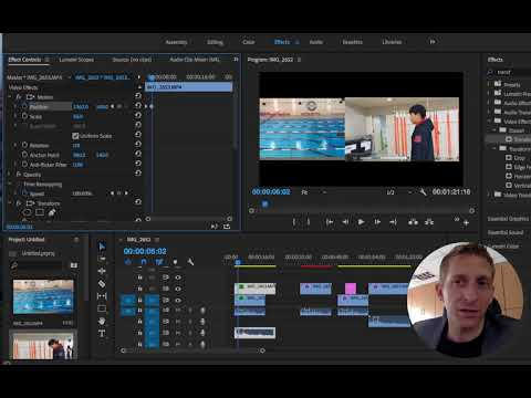 Track Matte Key & Transform Effect in Adobe Premiere