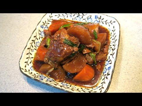 Pork and Radish Stew - 萝卜焖排骨