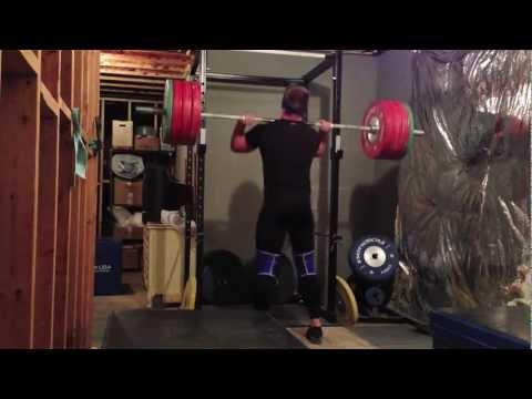 190kg Front Squat