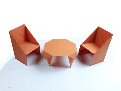 How to make a paper Chair?