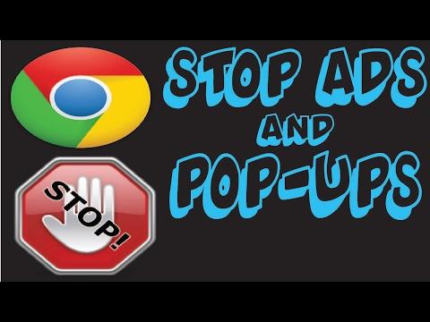 How To Block Ads And Pop-Ups On Google Chrome | Ad Blocker | Pop Up Blocker