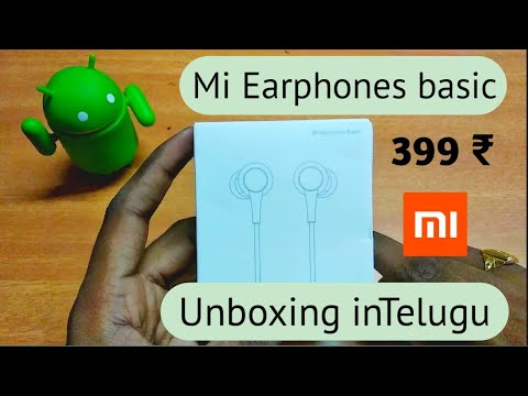Mi headphones basic red 2018 unboxing in Telugu ||Ds Tech Guru