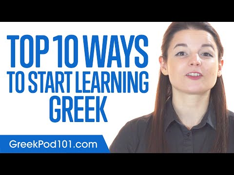 Top 10 Ways to Start Learning Greek