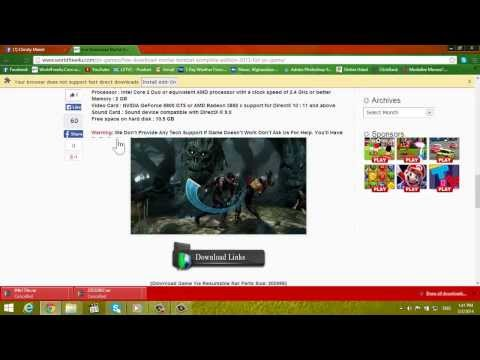 Download Full HD Movies And Full Version PC Games For Free