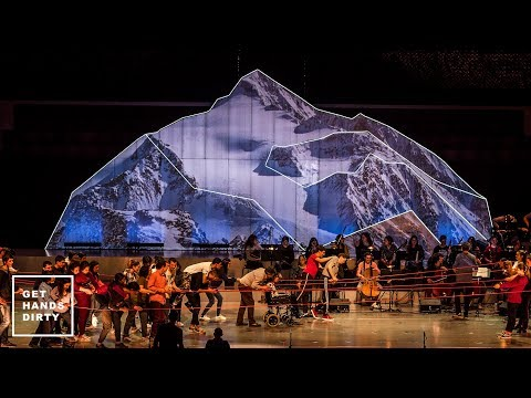 How to Make a Mountain // Scenography Project for Casa da Música
