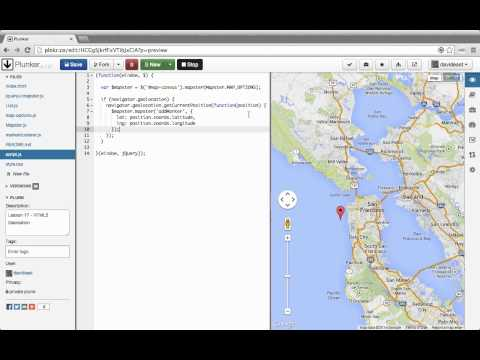 Custom Interactive Maps with the Google Maps API 17 HTML5 Geolocation