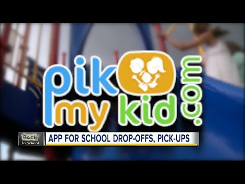 'PikMyKid' app created to help make the car line less stressful for parents, schools