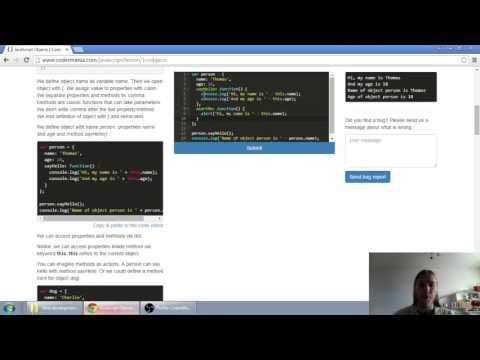 Web developerská škola, časť 29: JavaScript - Objekty