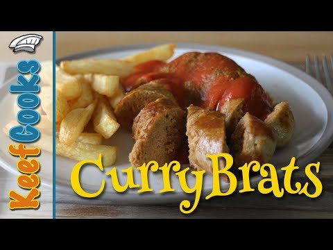 CurryBrats - Homemade Bratwurst with Currywurst Flavour