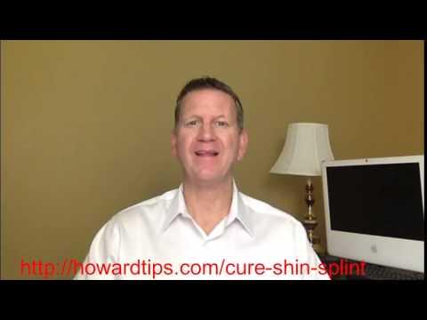 How To Cure Shin Splints Fast | Shin Splint Treatment