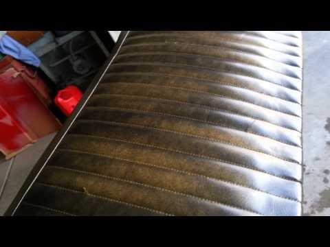 How to dye vinyl seats