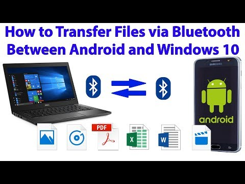 How to Transfer Files via Bluetooth between Android Device and Windows 10 PC