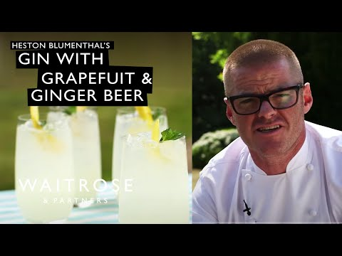 Heston's Gin with Grapefruit and Ginger Beer | Waitrose