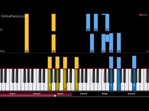 James Ingram - Just Once - Piano Tutorial