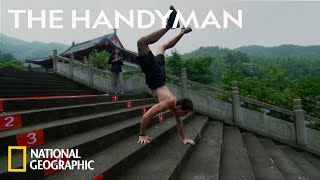 How to Walk on Your Hands | Science of Stupid: Ridiculous Fails