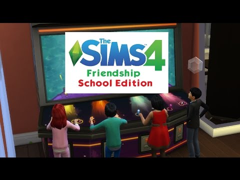 Lets Play - The Sims 4 friendship School Edition part 18 - BFF Club!