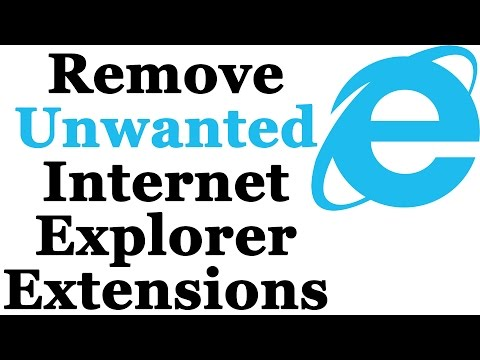 How To Disable or Remove Unwanted Browser Extensions From Internet Explorer
