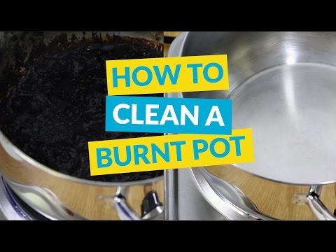 How to Clean a Burnt Pot or Pan without Chemicals