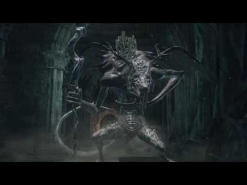 DARK SOULS III (PS4) - Oceiros, the Consumed King with Hawkwood the Deserter Summon