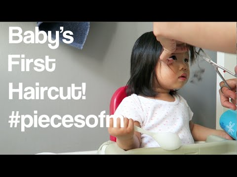 Baby's First Haircut - Bangs | #piecesofm