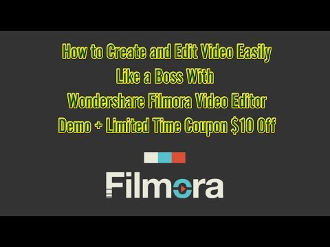 How to Create Video Like a BOSS With Filmora Video Editor