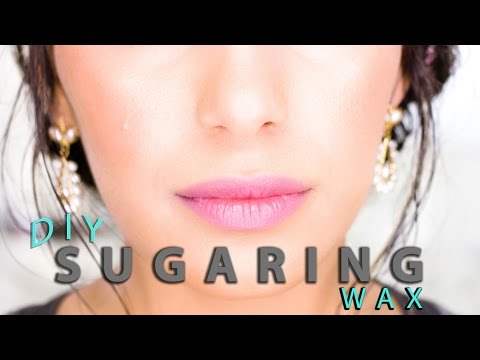 DIY Sugaring Wax: Facial Body Hair Removal at Home (Pt. 4) Natural Skin Care   Himani Wright
