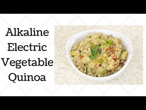 Vegetable Quinoa Dr. Sebi Alkaline Electric Recipe