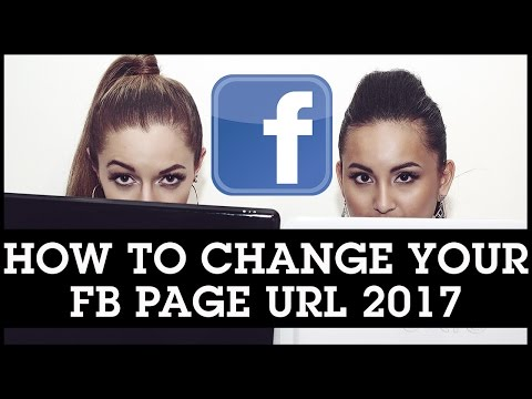 How to Change Your Facebook Page Name URL 2017