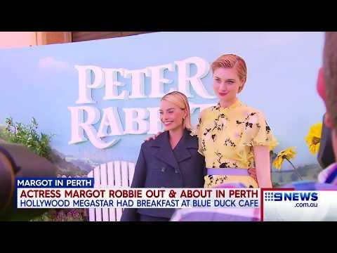 Margot Robbie | 9 News Perth