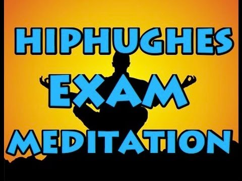 Exam Preparation -- Meditation Exercise to Relax and Sleep the Night Before a Big Exam