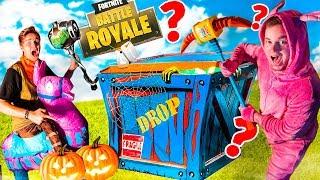 FORTNITE CHAPTER 2 HALLOWEEN MYSTERY BOX! Fortnite SKINS, Toys, NERF & More