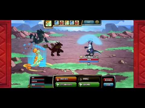 Monster Legends, the first level, to easy