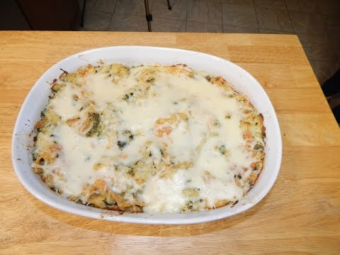 Chicken Lasagna Casserole Recipe