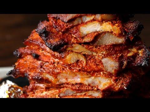 Mexican-Style Pork Tacos (Tacos Al Pastor)