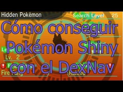 Cómo conseguir Pokémon Shiny con el DexNav en Rubí Omega/Zafiro Alfa