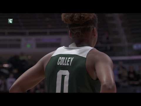 Colley Lifts Spartans Past Purdue, 82-68