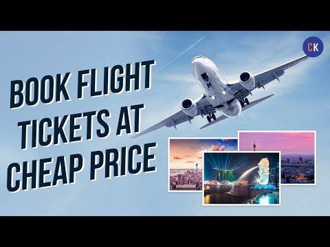 How To Book Cheap Flight Tickets India - Secret (2018)