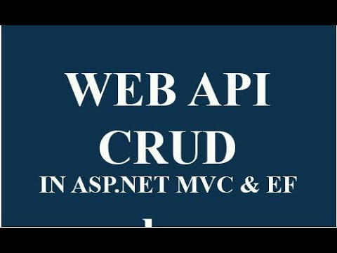 ASP.NET MVC WEBAPI CRUD operation using Jquery example- Hindi